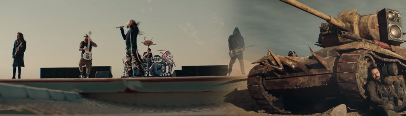 Korn se une a 'World of Tanks Blitz' para el video de 'Finally Free'.